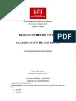 Tarea Ejemplos Clasificación de Bienes Civii II