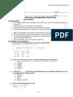 Sample Exam Intake 27