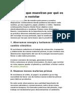 5 razones que muestran por qué es importante reciclar.docx