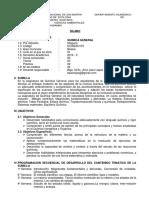Quimica General i. Sanitaria
