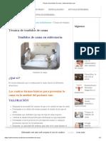 Técnica de tendidos de cama.pdf