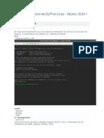 Guia de Instalacion de GLPI en Linux