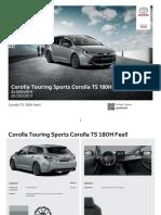 Toyota Corolla Touring sport 2019