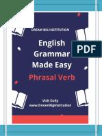 50 Common English Phrasal Verbs – (DreamBiginstitution)