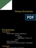 doença diverticular