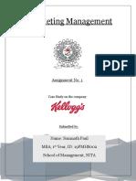 Case Study on Kellogg's