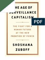 Zuboff, Shoshana.the Age of Surveillance Capitalism.2019