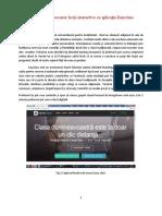 Aplicatie-Lectie Interactiva Cu Easyclass