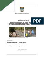 """""""Mejoramiento y Ampliación Del Sistema de Agua Potable-SAN MARTIN"""