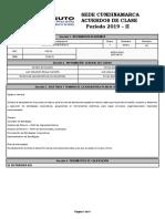 Acuerdo Distancia 5555