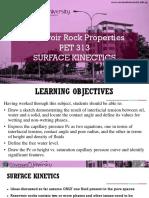 Surface Kinetics