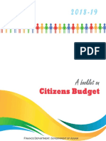 Budget for our state
