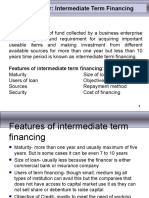 Chapter - 4 Intermediate Term Financing