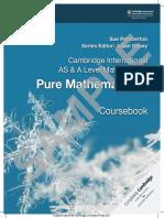 Cambridge International AS and A Level Pure Mathematics 1 Coursebook.pdf
