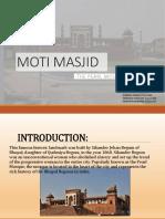 Moti Masjid 1