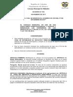 Acuerdo No. 034 Estatuto Tributario