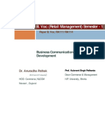 B.Voc (Retail Management ) Business Communication and Personality Development General   Paper I.pdf