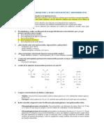 Cuestionario Unidad 2 - Carbohidratos