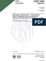 NBR-15575-4-2013
