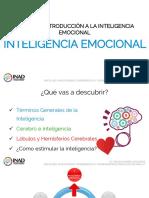1.1 Introducción a La Inteligencia Emocional
