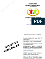 Calendario Tributario Municipal 2018