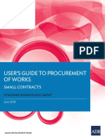 Procurement Small Works Guide