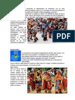 4 Regiones de Guatemala Con Los Nombres de Sus Danzas Tradicionales