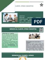 Servicio al Cliente, Servicio, Atención No 1.pptx