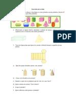 Exercícios de Revisão - Formas Geometricas 6 Ano