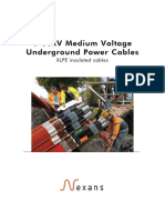 Power Cables Catalogue 03-2010- 36 KV Used in the Spec