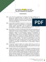 Resolución de Resultados de Estudios Al Incremento de Tasa de Ingreso Al Parque Nacional Galápagos