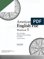 American English File 1A Workbook