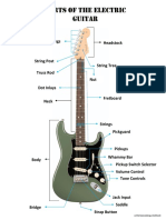 Parts of the E.guitar