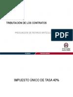 Tributación de contratos_Presunción de retiros artículo 21 LIR