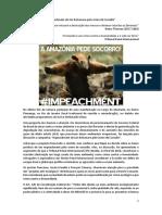 """""""Impeachment de Jair Bolsonaro pelo crime de Ecocídio"""""""