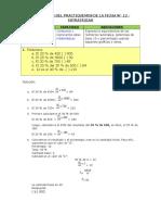 Resolución Del Practiquemos de La Ficha 12 Completa