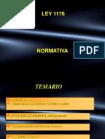 2.Normativa Ley 1178