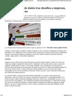 20190826 - Lei de Proteção de Dados Traz Desafios a Empresas, Cidadãos e Governo