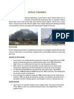 Report on Folded Plates & Space Frame