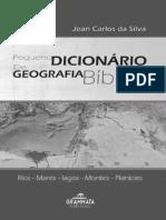 Pequeno de Geografia Bíblica Do Professor Jean Carlos