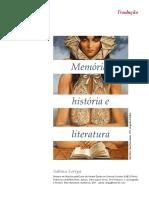 memoria historia e literatua