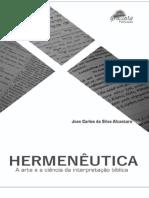 Hermenêutica Sagrada Versão Digital - Professor Jean Carlos