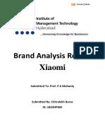 Brand Analysis Xiaomi Chitralekh