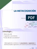 La Metacognición