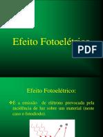 Aula Efeito Fotoelétrico