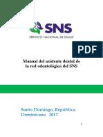 Manual Asistente Dental SNS