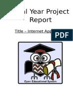 FYP Internet Application