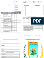 Informe de Progreso Del Aprendizaje Del Estudiante -