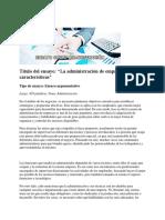Tipos de ensayo Administración.docx