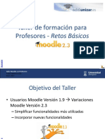 Taller Moodle 2.3